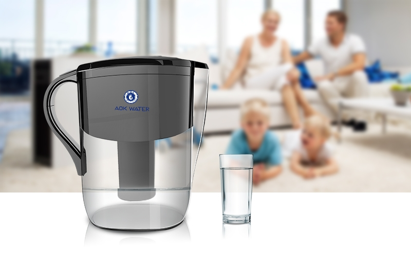 AOK 108 Alkaline Water Filter Pitcher