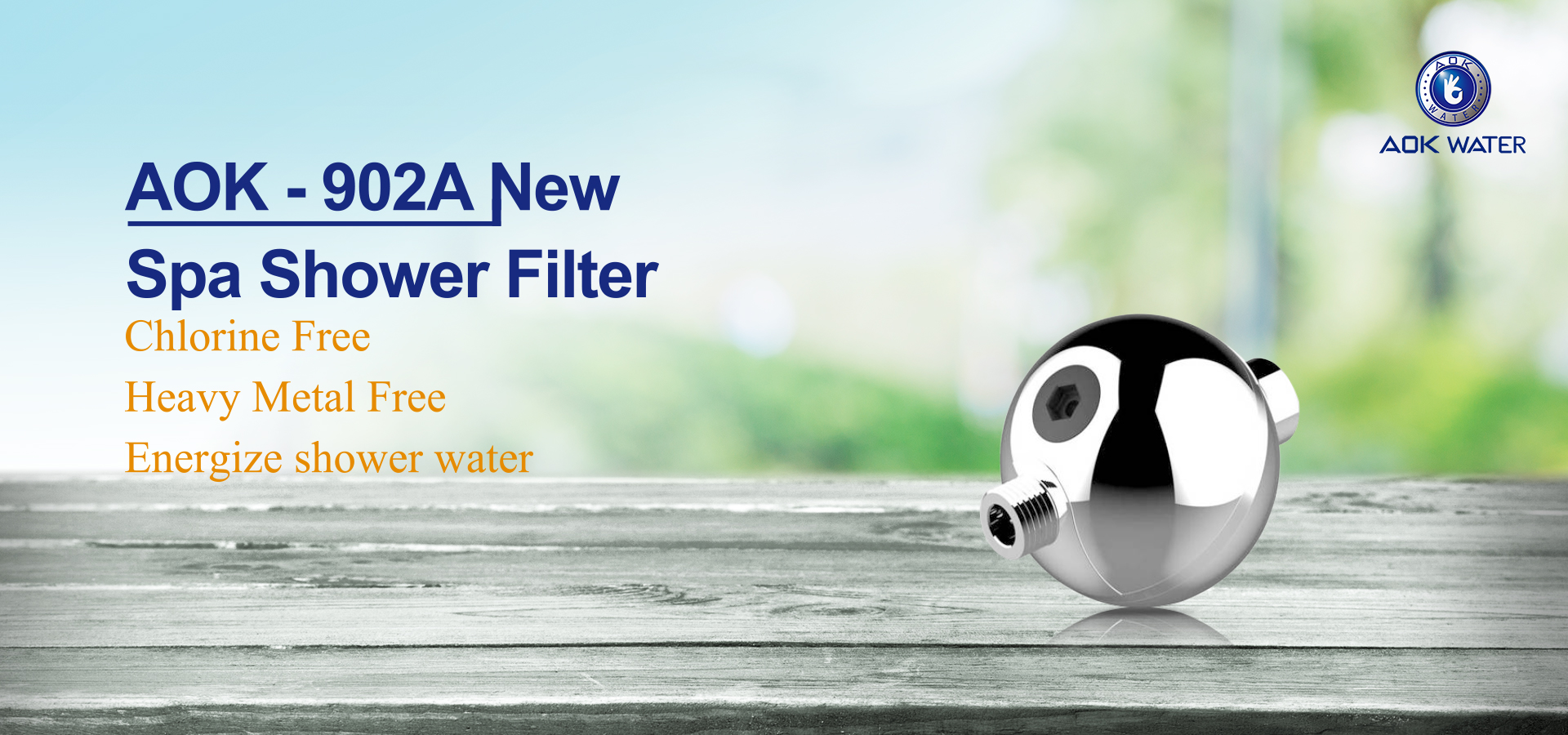 AOK-902A Shower Filter,no chlorine shower
